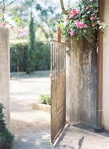 Rustic Iron Garden Gate | photography by http://jenhuangphoto.com/