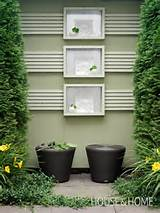 Use wood, concrete or tile paint to beautify your garden design.