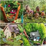 Homemade fairy houses | Arts and Crafts | Pinterest