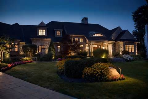Exterior Outdoor Landscape Lights | Total Lawn Care Inc.-Full Lawn ...