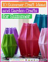summer craft ideas you will love in this collection of garden crafts ...