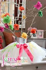 Fairy garden party | Birthday and Slumber party ideas | Pinterest