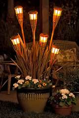 Tiki Torch Planter by Lowes Creative Ideas : Start with a beautiful ...