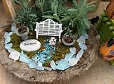 mini garden trough gardens