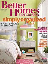 cover of the january 2014 better homes and garden magazine