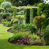 quirky garden borders traditional gardens garden design ideas