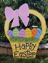 easter basket yard art this cute easter basket is made of baltic