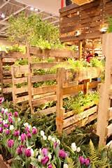 Pallet Garden Walls...wonder if I could plant things in it for the ...