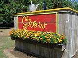 Vegetable garden sign | For the Outside | Pinterest