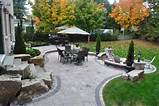 backyard paver patio backyard boulders ogs landscape services 6426 jpg