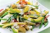 avocado and potato salad recipe taste com au