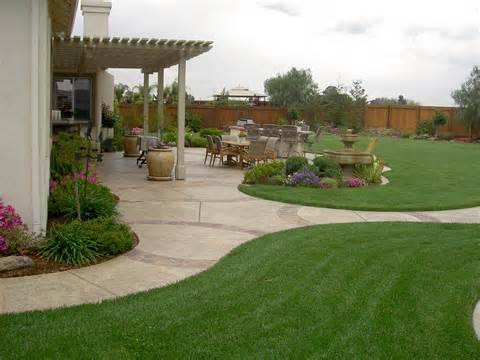 backyard landscaping ideas california : Home And Gardening Ideas