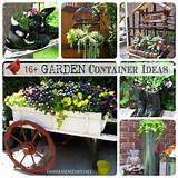 16 Creative Garden Container Ideas