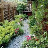 ... so the garden would be beautiful and low maintenance in the same time