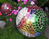 Mosaic Garden Art Projects Bowling Ball Mosaic Garden Art