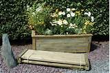 ... Inspirations > Container Gardening > Large Garden Planter Trough Ideas