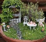 ... link for Part I gallery of fairy garden photos. Thanks for looking