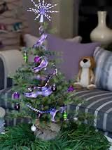 Mini Christmas Tree Ideas : Decorating : Home & Garden Television