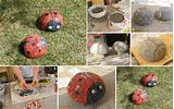 diy, diy projects, diy craft, handmade, diy ladybug mosaic garden ...