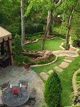 villa bahçe dekorasyon model tasarımları