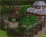 sims 3 garden lot community sims 3 ideas pinterest