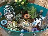 fairy garden miniature gardens pinterest