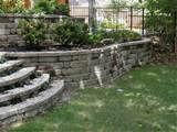 ... retaining walls that does not mean walls to retain the kids or your