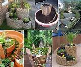 creative garden ideas gardensrus pinterest