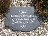 garden memorial plaques wording ideas