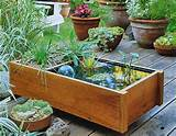download container water garden ideas