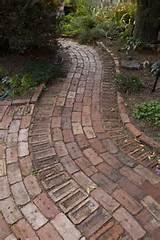 recycled brick path via flickr backyard ideas pinterest