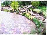 Home Furniture Design > Patios > Garden Stone Patio Ideas