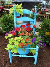 ... decorated with flowers, beautiful spring decorating and backyard ideas