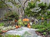 decorating fun in the miniature halloween garden the mini garden