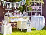 shabby chic garden party guest feature celebrations at home