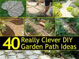 garden paths not only mark the safe places in your garden to walk they