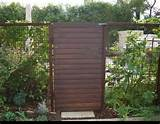 modern garden gate outdoor ideas pinterest