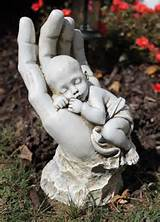 baby memorial garden statue miscarriage memorial garden memory