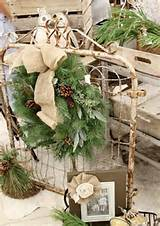 40 Comfy Rustic Outdoor Christmas Décor Ideas - Interior Decorating ...