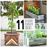 here are 11 great diy outdoor planter ideas from simple to more