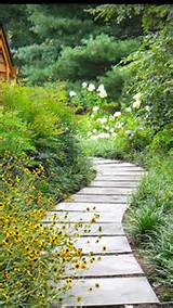 natural flowing garden walkway backyard ideas pinterest