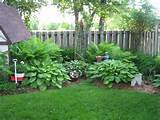 the back corner hostas ferns gardening ideas