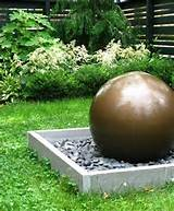 Spherical FountainModern LandscapingLivable LandscapesWyndmoor, PA