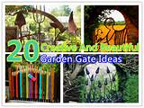 20 creative beautiful garden gate ideas