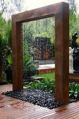 Small Garden Water Fountains | Water Garden Patio Ideas Best Design ...