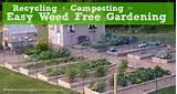 Weed Free Gardening | Garden Ideas | Pinterest
