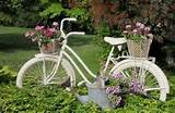 diy garden bicycle planters home and garden digest