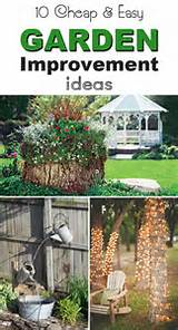 10 Cheap and Easy Garden Improvement Ideas