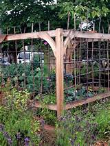 great vegetable garden fence idea garden pinterest