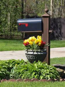 mailbox ideas flowers mailbox landscape design